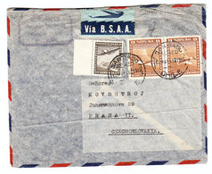 Chile B.S.A.A. AIRMAIL COVER 1948 - Chile