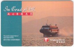 HONGKONG A-338 Chip Telecom - Traffic, Ferry - Used - Hong Kong