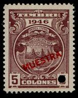 "1946 Costa Rica $5 Colones ""Color Proof Specimen"" - Costa Rica"