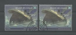 Belgium 2012 Titanic OCB 4228/4229 (0) - Oblitérés