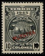 "1945 Costa Rica $10 Colones ""Color Proof Specimen"" - Costa Rica"
