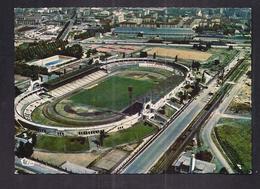 CPSM 69 - LYON - Vue Aérienne - Stade Municipal De Gerland - La Pïscine - TB GROS PLAN FOOTBALL Et Tribunes - Football