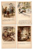 LOT  DE 52 CARTES  POSTALES  ANCIENNES  DIVERS  FANTAISIES  ET  HUMOUR  N2 - 5 - 99 Postcards