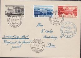 Svizzera Swiss - 660 – Lettera 1939 – Volo Di Propaganda Delle Poste Svizzere. SPL - Storia Postale