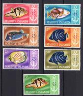 1967 -  MALDIVE - Mi.. Nr.  217/223 - NH - (UP.207.44) - Maldive (1965-...)