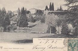 COLà.LAZISE-VERONA-LAGO DI GARDA-VILLA MINISCALCHI-CARTOLINA VIAGGIATA IL 4-7-1902 - Verona