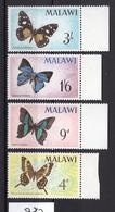 1964 -  MALAWI - Mi.. Nr.  37/40 - NH - (UP.207.44) - Malawi (1964-...)