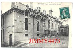 CPA - Ecole Communale Des Garçons En 1910 - THOUARS 79 Deux Sèvres - Phot. Laslandes - Lib. Vve Delabarre - Recto-Verso - Thouars