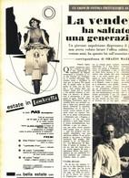 (pagine-pages)PUBBLICITA' LAMBRETTA  Settimanaincom1956/29. - Livres, BD, Revues