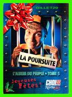 ADVERTISING - PUBLICITÉ - FRANÇOIS PÉRUSSE, LA POURSUITE, 1996 - CHOI98 - ZOOM CARDS - - Publicité