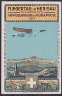 Svizzera Swiss - 667 – Cartolina Ufficiale Illustrata Del 31.3.13 Manifestazione Aerea Di Herisau. SPL - Storia Postale