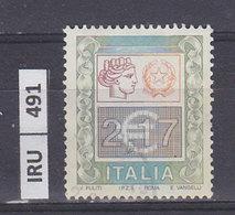 ITALIA REPUBBLICA    2002Alti Valori € 2,17 Usato - 6. 1946-.. Repubblica