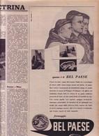 (pagine-pages)PUBBLICITA' BELPAESE  Settimanaincom1956/29. - Livres, BD, Revues