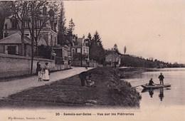Seine-et-Marne - Samois-sur-Seine - Vue Sur Les Plâtreries - Samois