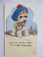 FORT WILLIAM  ( Grande-Bretagne ) - CARTE A SYSTEME  DEPLIANT 12 Vues - Superbe !  TBE - Dreh- Und Zugkarten