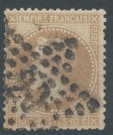 Lot N°46961  N°28B, Oblit étoile Chiffrée 20 De PARIS ( R. St-Domque-St-Gn ,56) - 1863-1870 Napoleon III With Laurels