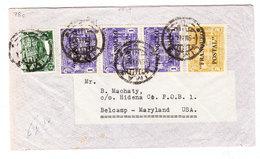 Peru COVER TO Belcamp USA 1941 - Peru