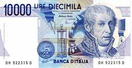 ITALIE - Banca D'Italia - 10000 Lire 03-09-1984 - Série DH 922315 D - P. 112a - AUNC - Italie