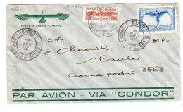 Brazil AERONAUTICS CONGRESS SPECIAL CANCEL AIRMAIL COVER 1934 - Luchtpost