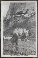 MEZZOCORONA (TN) - IL CASTELLO - FORMATO PICCOLO - EDIZ. LECHTALER - VIAGGIATA DA MEZZOCORONA 21.12.1927 - Châteaux