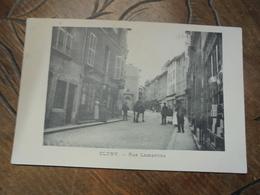 "Cluny Rue Lamartine  Agence Générale Du "" Petit Journal "" - Cluny"