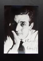 Autografo Dario Fo Drammaturgo Attore Regista Scrittore Autore Pittore Teatro - Autographes