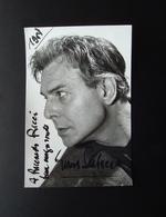 Autografo Gianni Santuccio Attore Foto Bosio 1959 Cinema Teatro - Autografi