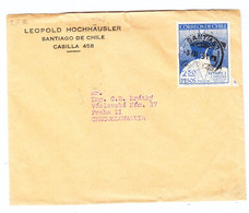 Chile ANTARCTIC COVER 1948 - Chile