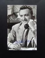 Autografo Otello Toso Attore Cinema Teatro - Autografi