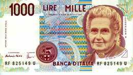 ITALIE - Banca D'Italia - 1000 Lire 03-09-1990 - Série RF 826149 U - P. 114a - UNC - Italie
