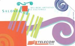 SCHEDA TELEFONICA  SALONE DEI BENI ARTISTICI E CULTURALI TORINO   SCADENZA 31/12/1999 USATA - Italy