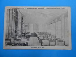 """17 ) Chatelaillon  """" Veranda """" Pension De Famille Et Restaurant St-victor - FAIVRE Propriétaire - Année - EDIT : Rivière - Châtelaillon-Plage"""