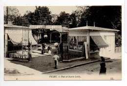 - CPA VICHY (03) - Parc Et Source Lardy (belle Animation) - Editions Lévy N° 6 - - Vichy