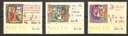 Malta Malte 1987  Yvertn° 760-762 *** MNH Cote 7,00 Euro Noël Kerstmis Christmas - Malte