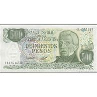 TWN - ARGENTINA 303b2 - 500 Pesos 1977-82 Serie B - Signatures: Lopez & Diz UNC - Argentina