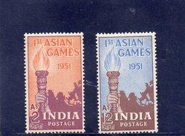INDE 1951 ** - 1950-59 République