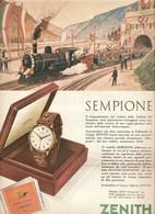 (pagine-pages)PUBBLICITA' ZENITH  Settimanaincom1956/18. - Livres, BD, Revues