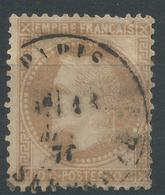 Lot N°46971  N°28B, Oblit Cachet à Date De PARIS (R. Serpente) - 1863-1870 Napoleon III With Laurels