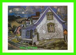 ARTS, PAINTING - MARC-AURÈLE FORTIN - VIEILLE MAISON À SAINTE-ROSE, QUÉBEC, 1983  - PASTEL 48.5 X 65 Cm - - Peintures & Tableaux