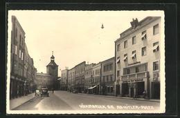 AK Vöcklabruck, Partie Am Adolf--Platz - Austria