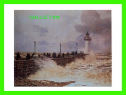ARTS, PAINTING - THE JETTY AT LE HAVRE - CLAUDE MONET, CIRCA 1868 - - Peintures & Tableaux