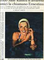 (pagine-pages)JANE RUSSELL  Settimanaincom1956/18. - Livres, BD, Revues