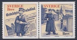 """Sweden Sverige 2002 Mi 2310 /1 SG 2230 /1 ** Cent. """"Gronkopings Veckoblad"""", Satirical Newspaper / Satirezeitung - Zweden"""