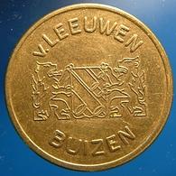 KB257-1 - V. LEEUWEN BUIZEN - Zwijndrecht - B 22.0mm - Koffie Machine Penning - Coffee Machine Token - Professionnels/De Société