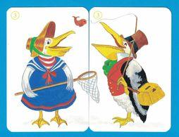 2 CARTES PELICAN  / AU DOS CHAT - Cartes à Jouer Classiques