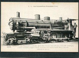 CPA - Les Locomotives Françaises (Nord) - Machine N° 3-546 - Matériel