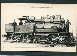 CPA - Les Locomotives Françaises (Nord) - Machine N° 441 - Matériel