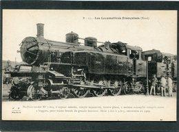 CPA - Les Locomotives Françaises (Nord) - Machine-tender N° 3.804 - Matériel