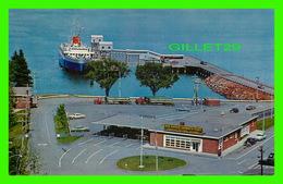 SHIP, BATEAU - FERRIES MV BLUENOSE AT DOCK, BAR HARBOR FERRY TERMINAL, NOVA SCOTIA - - Ferries