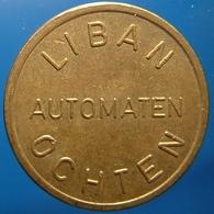 KB260-1 - LIBAN AUTOMATEN OCHTEN - Ochten - B 22.0mm - Koffie Machine Penning - Coffee Machine Token - Professionnels/De Société
